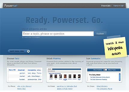 Suchmaschine Powerset