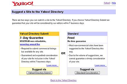 Yahoo! Web-Verzeichnis