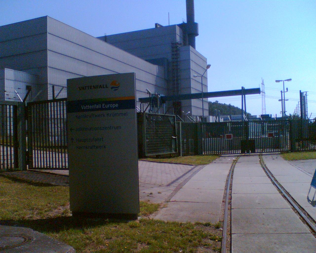 KKW Kernkraftwerk Krümmel - AKW Atomkraftwerk Krümmel