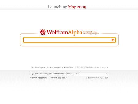Suchmaschine WolframAlpha