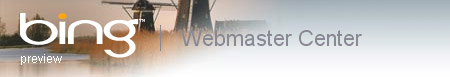 Bing Webmaster Center Logo
