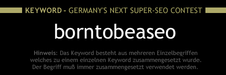 Germany's Next Super-SEO Keyword