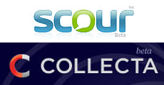 Suchmaschinen Collecta und Scour