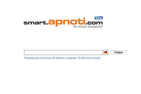 smart.apnoti.com Startseite