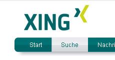 Business-Netzwerk XING Suche