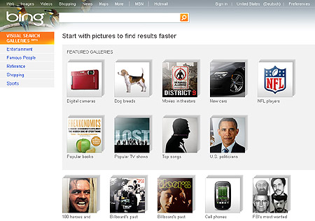 Bing Visual Search Beta