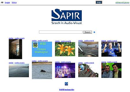 Multimedia-Suchmaschine SAPIR (Demo)
