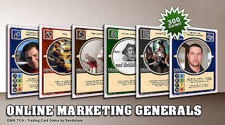 Online Marketing Generals - Trading Card Game