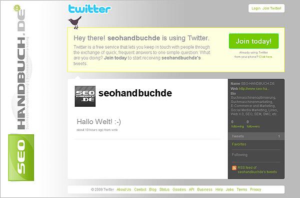 Seo-Handbuch.de @ Twitter
