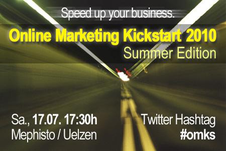 Online Marketing Kickstart 2010 Summer Edition