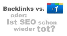 Backlinks vs. Google +1