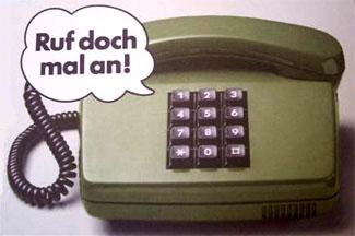 Ruf doch mal an
