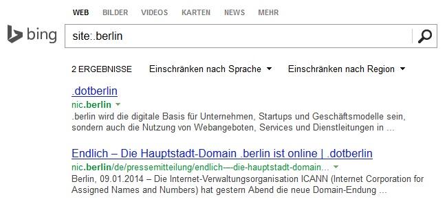 .berlin bei Bing