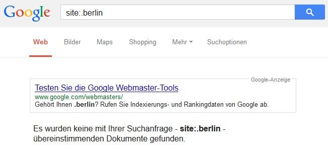 .berlin bei Google