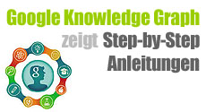 Google Knowledge Graph zeigt Step-by-Step-Anleitung