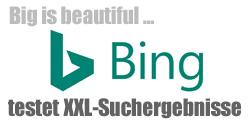 Bing XXL Suchergebnisse